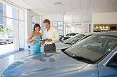 Auto showroom promo
