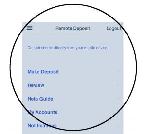 4 Make Deposit